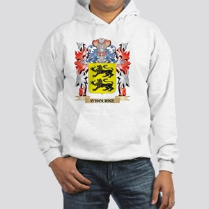 O'Rourke Coat of Arms - Family Cres Sweatshirt